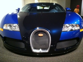 2009 Bugatti Veyron (this one appeared on the Tonight Show with Conan O'Brien)