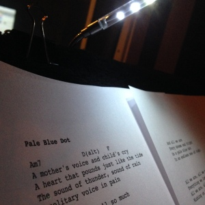 Sci-Fi Romance song lyrics in the vocal booth